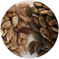 Etnic recetas semillas de curcubita y girasol con esencias de usa