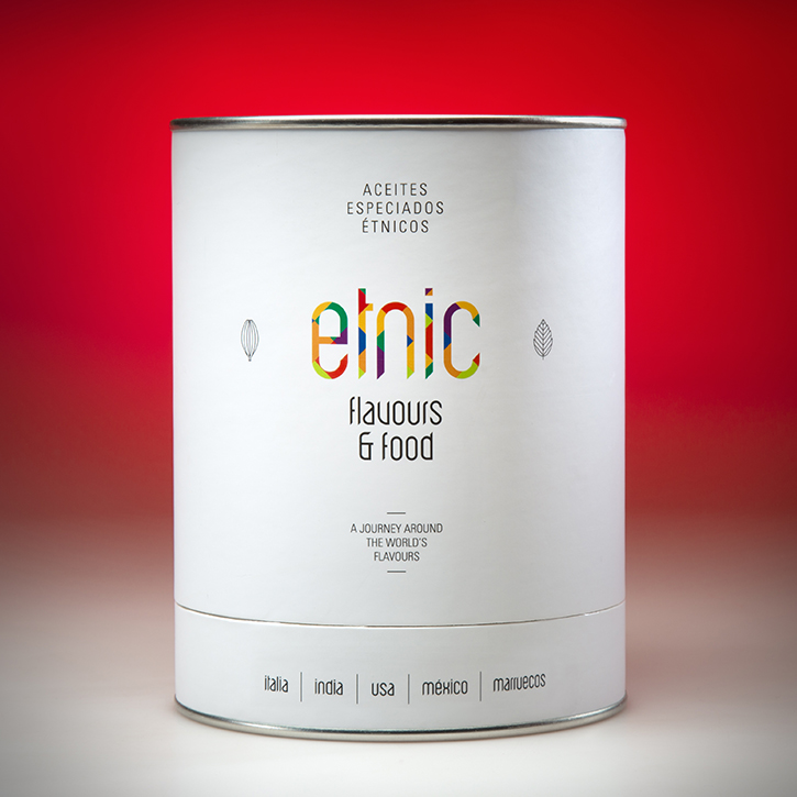 Etnic oils flavored spicy flavored spices Five 5x50ml