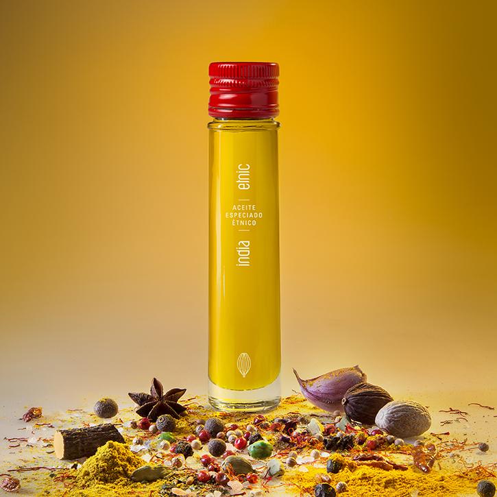 Etnic aceite sabores aromaticos condimentados especiados India 50ml