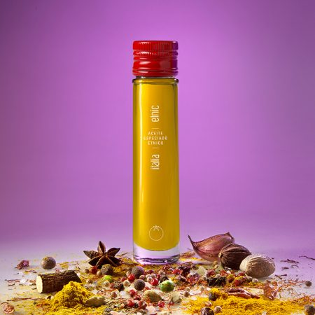 Etnic aceite sabores aromaticos condimentados especiados Italia 50ml