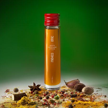 Etnic aceite sabores aromaticos condimentados especiados México 50ml