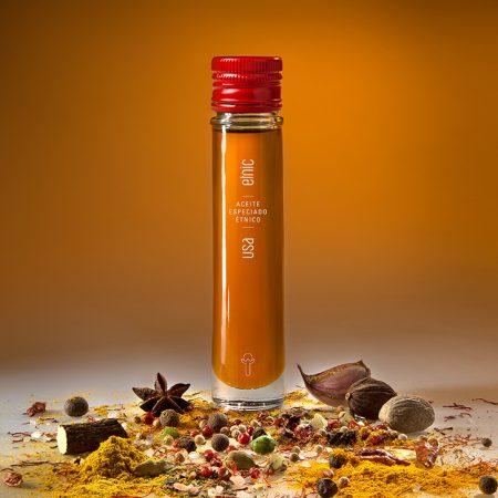 Etnic aceite sabores aromaticos condimentados especiados USA 50ml